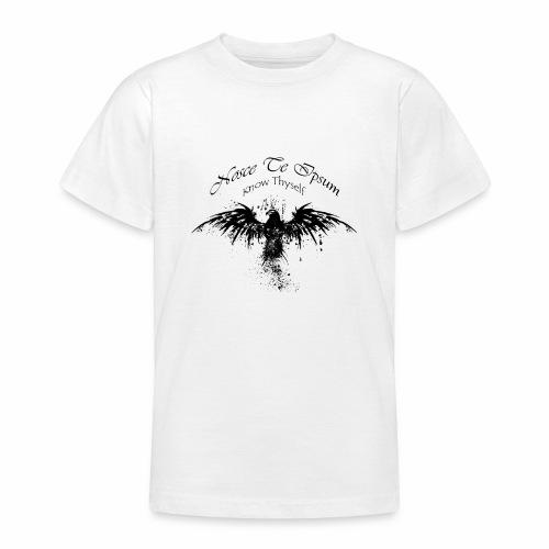 Eagle Splatter Design - Teenage T-Shirt