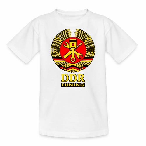 DDR Tuning Coat of Arms 3c - Teenage T-Shirt