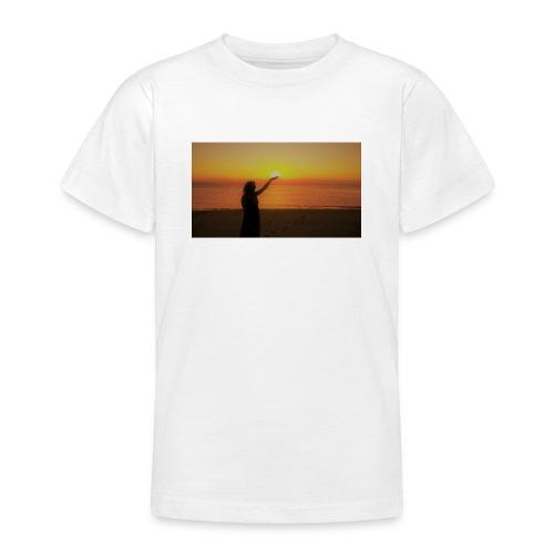 femme coucher de soleil - T-shirt Ado