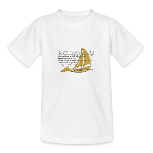 weltumsegeln - Teenager T-Shirt