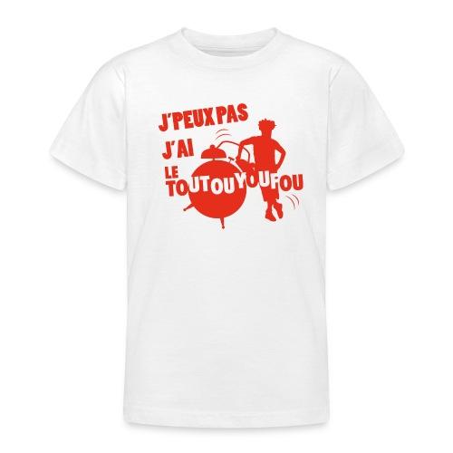 JPEUXPAS ROUGE - T-shirt Ado