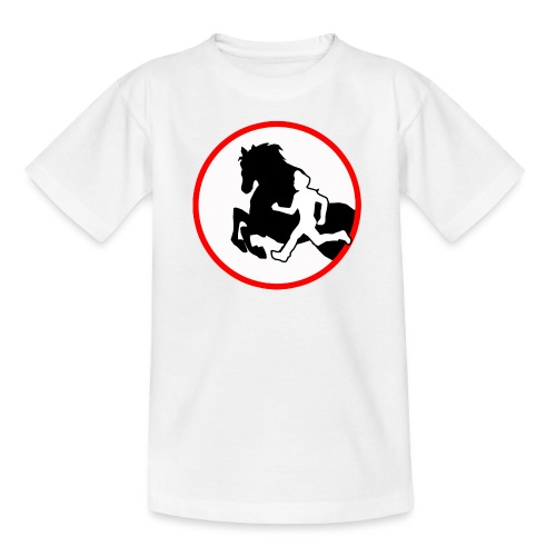 Horse Agility Logo - Teenager T-Shirt