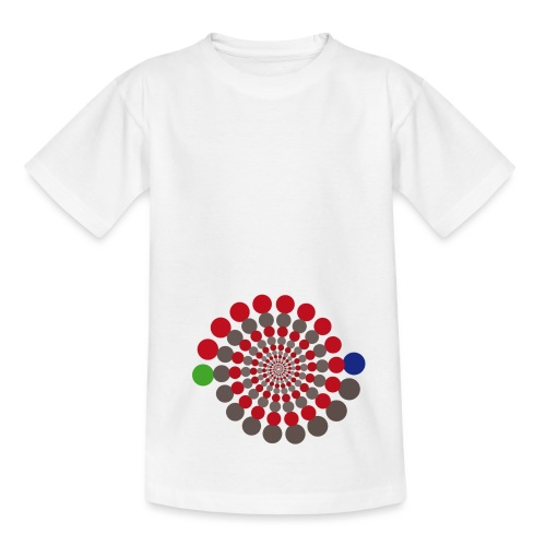 Kreis-Spirale by Sabina Elisabeth - Teenage T-Shirt