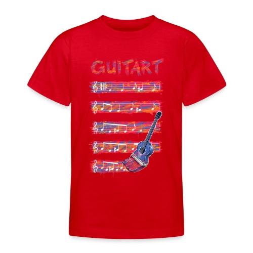 GuitArt - Teenage T-Shirt