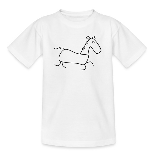 Das Pferd Günther - Teenager T-Shirt