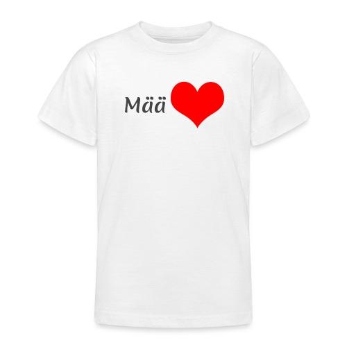 Mää sydän - Nuorten t-paita