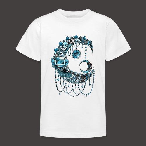 Lune dentelle bleue - T-shirt Ado