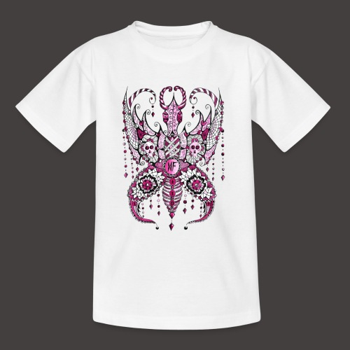 Papillon Lilou Rose - T-shirt Ado