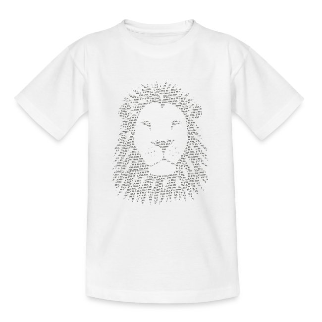 Colored Lion T-shirt Toon Cartoon BD Look Techno Rave Fête Dance Music Lion