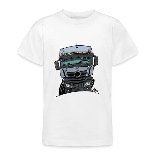 0807 M Truck grijs - Teenager T-shirt