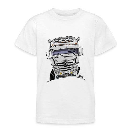 0807 M truck wit - Teenager T-shirt