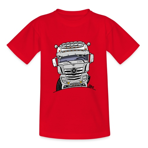 0807 M truck wit - Teenager T-shirt