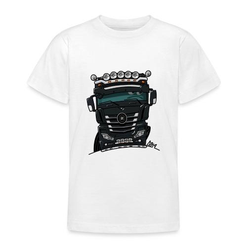 0807 M truck zwarter - Teenager T-shirt