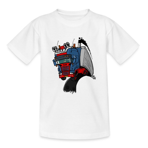 The flying skane man notext - Teenager T-shirt
