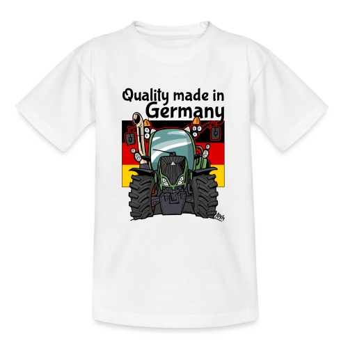 quality made in germany F - Teenager T-shirt