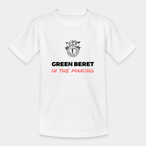Green Beret in the Making - Teenage T-Shirt