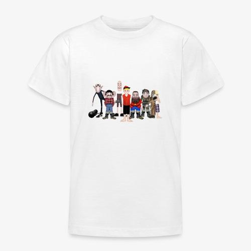 Askeladden og de gode hjelperne - T-skjorte for tenåringer