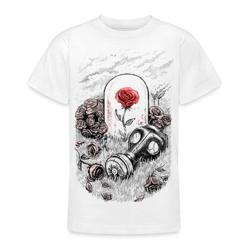 The Last Flower On Earth - Teenage T-Shirt