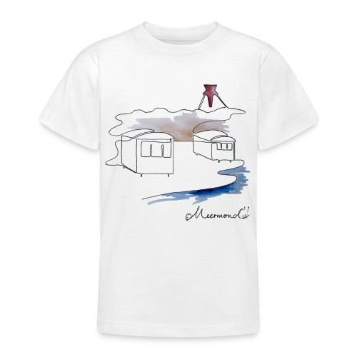 Blokhus 1 - logo - Teenager-T-shirt