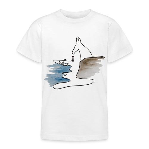 Blåvand 2 - Teenager-T-shirt