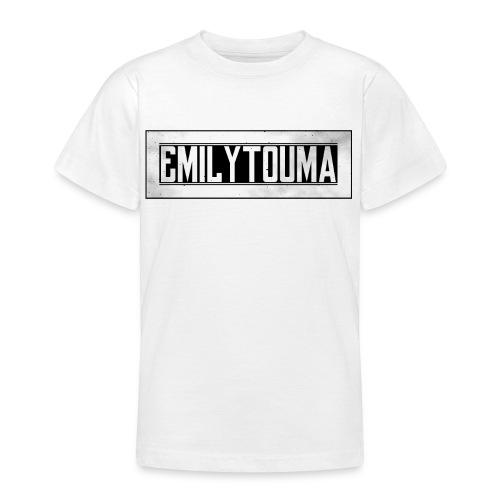 emilytouma 2100 700 groot design png - Teenager T-shirt