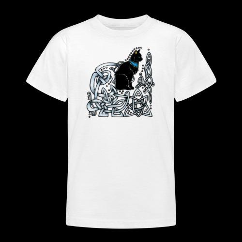 Celtic Cat - Teenage T-Shirt