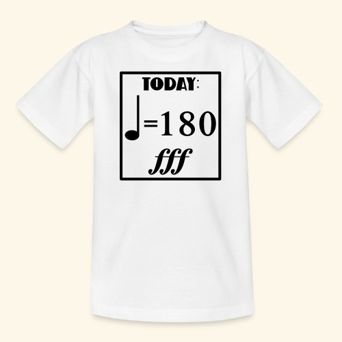 today Musik Gefühle - Teenager T-Shirt
