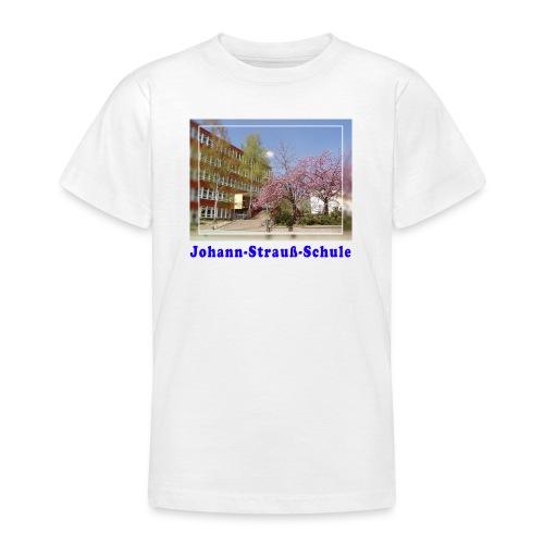 schule kirschbluete - Teenager T-Shirt