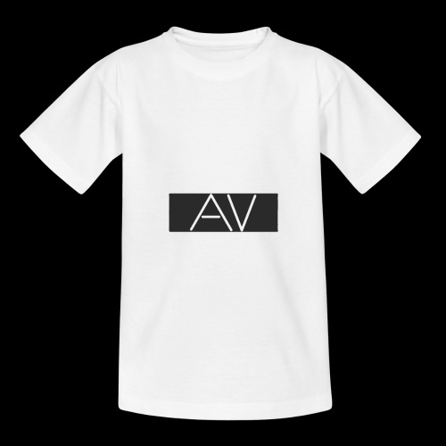 AV White - Teenage T-Shirt