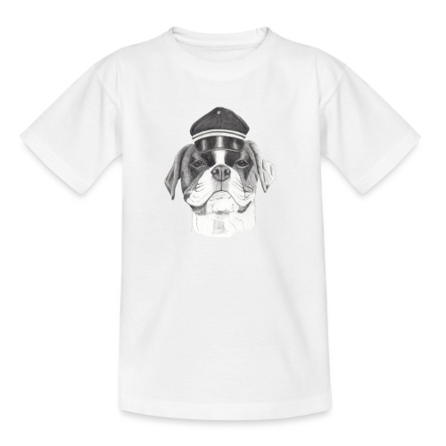 Boxer with cap - Teenager-T-shirt