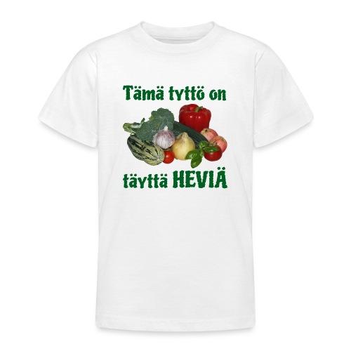 Tyttö täyttä heviä - Nuorten t-paita