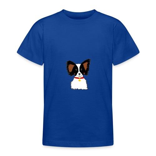 Papillon dog - Teenage T-Shirt