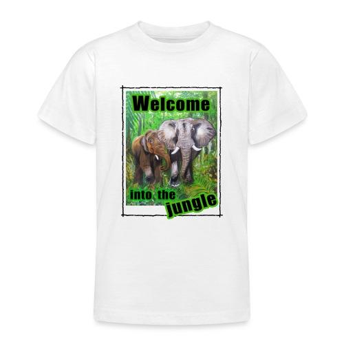 Willkommen im Dschungel - Teenager T-Shirt