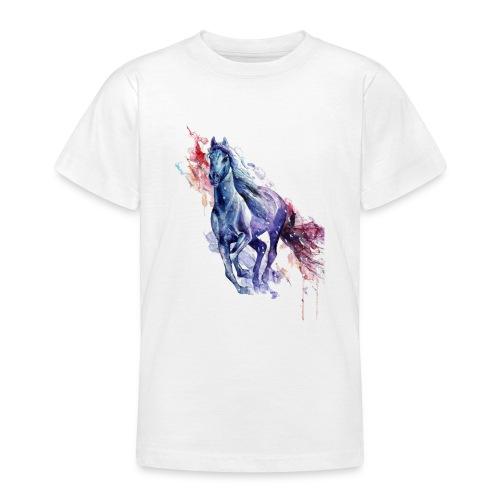 Cute horse shirt - Teenager-T-shirt
