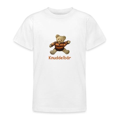 Teddybär Knuddelbär Schmusebär Teddy orange braun - Teenager T-Shirt