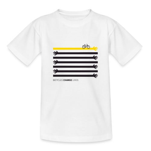 BCL Black Hands One Yellow - Teenage T-Shirt