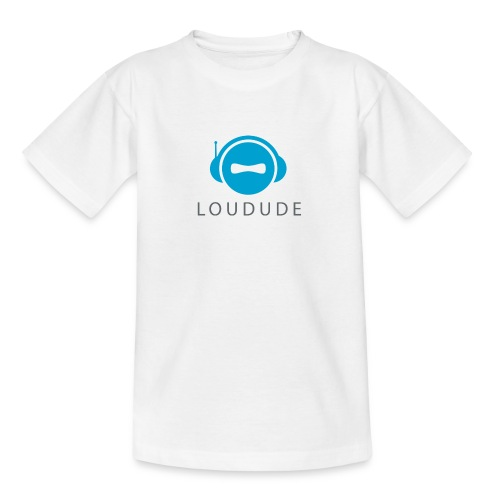 LOUDUDE logo - Teenage T-Shirt