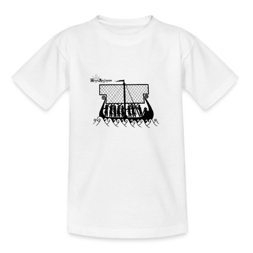 Transparent Boat - Teenage T-Shirt