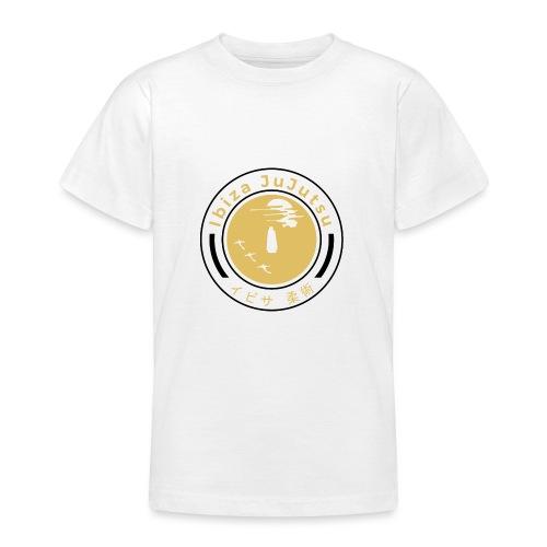 Classic circular logo for Ibiza JuJutsu - Teenage T-Shirt