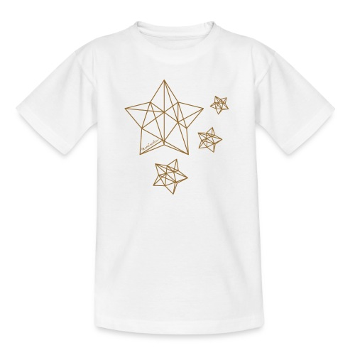 Sternenhimmel Diamant - Teenager T-Shirt