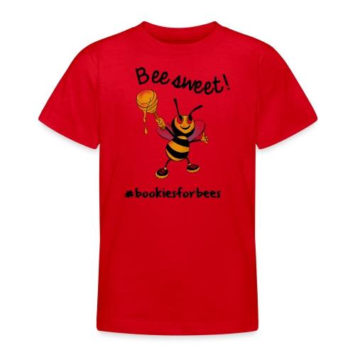 Bees7-1 Bienen sind süß | save the bees - Teenage T-Shirt