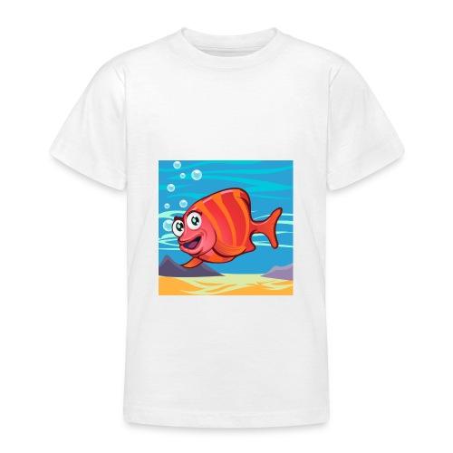 Fish Cartoon - Maglietta per ragazzi