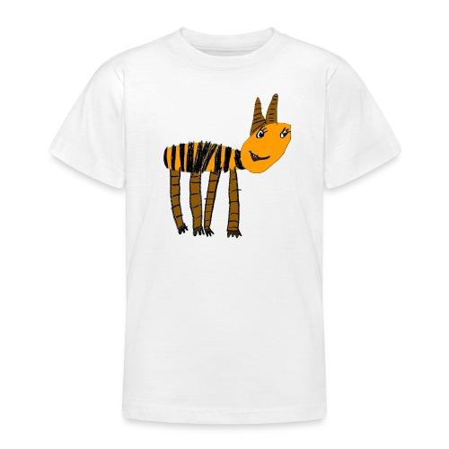 Streifentier - Teenager T-Shirt