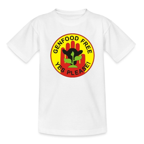 GENFOOD FREE - YES PLEASE! - Teenager T-Shirt