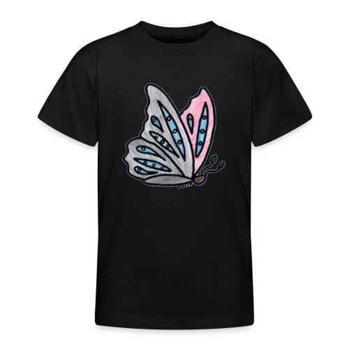 Fjäril - T-shirt tonåring