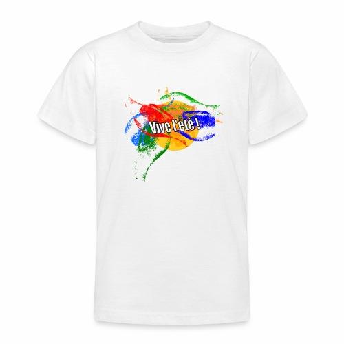 Live the summer ! - Teenage T-Shirt