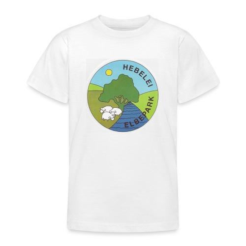 Logo Elbe-Tier-Park Hebelei - Teenager T-Shirt