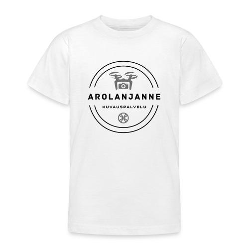 Janne Arola - kuva edessä - Nuorten t-paita