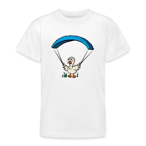 Groundhendl Groundhandling Hendl Paragliding Huhn - Teenager T-Shirt
