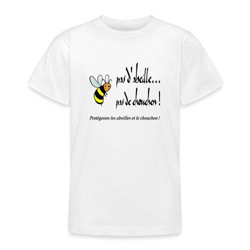 Pas d'abeille, pas de chouchen - T-shirt Ado